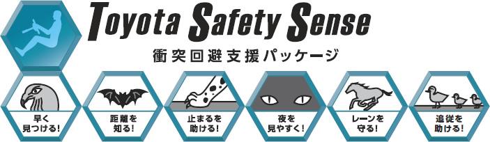 衝突回避支援パッケージ「ToyotaSafetySense」