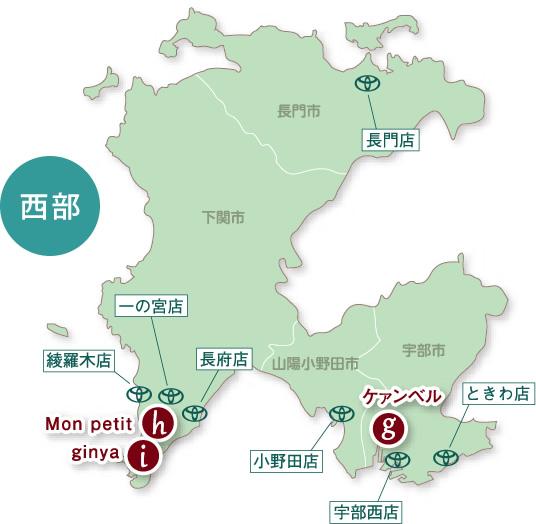 おすすめパン情報 西部MAP