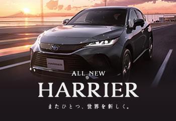 新型ハリアーデビュー